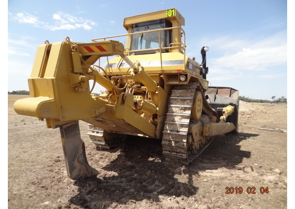 Caterpillar D9L Dozer and Cat 924GZ Loader for sale for sale