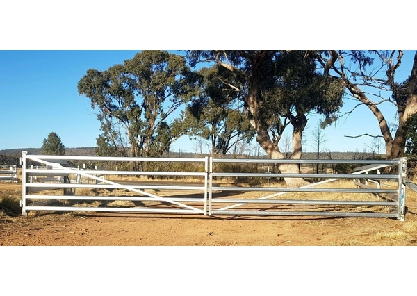 HEAVY DUTY FARM GATES FROM $176 for sale | Equipment