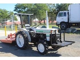 1983 Iseki Bolens G244 Tractor with Slasher