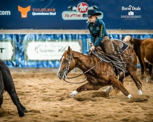 Emily Poole and 'Stairway To Heaven' with a 214pt run secure 4th place in the 4Cyte Amateur Non Pro Classic Challenge Final