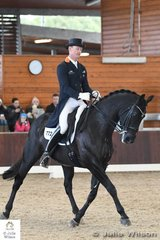 Experience and talent will always out in the end. Brett Parbery rode Susie Duddy's well performed Weltmeyer gelding, 'DP Weltmieser' to win the FEI CDI-W Grand Prix Freestyle with an impressive 74.610%. They were second in the Grand Prix yesterday.