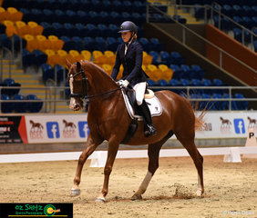 Madeleine Mackenzie represented John Paul College in the Medium Freestyle taking out first place with Lucinderella.