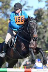 Emily Fraser and 'Diesel' representing the Dubbo Pony Club and Zone 24 had a good weekend and won the Associate C Grade AM5#2.