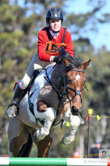 Brianna Wiseman and 'Bundy' from Canberra Lakes Pony Club and Zone 16 rode well to win the Associate C Grade AM5#2.