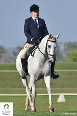 Brodie Robertson from Kunanurra in WA rode Clarendon Park Artic Monkey in the Elementary 3.2.