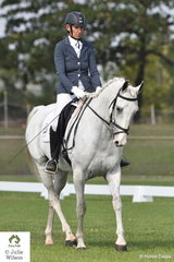Anne-Marie Cruickshank riding Wynola Claytons Rumour placed second in the Elementary 3.3.