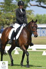 Temeca Barlow rode A New Hope to win the Preliminary 1.2.