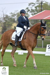 Danila Lochrin rode Imperial Gold in the Elementary 3.3.