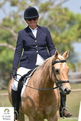 Angela Copland and TMD Sheza Strutin Legend took second place in the Preliminary 1.2.