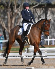 """""""UNIVERSAL MIRACLE TOI"""" ridden by Hayley McGregor in the Elementary 3.2"""