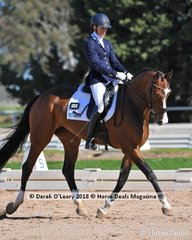 """""""BLOOMFIELD MANDOLIN"""" ridden by Janet Seccull in the Novice 2.2"""