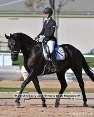 """FELIX"" ridden by Caitlin Scott in the Novice 2.1"