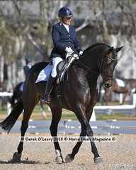 """""""GOOD TIME"""" ridden by Keryn Connors in the Elemenatry Teams Class"""