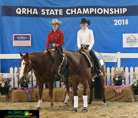 Both Sydney and Sophie have had a wonderful time the 2018 Queensland State Reining Championships.