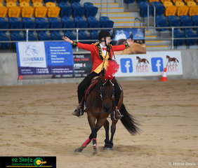 It really was the greatest show when Charlotte Callinan entered the freestyle arena with Op Hesa A Smart Whiz