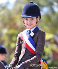 Jess Callus was the Champion Junior Rider of the Show.