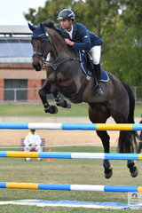 James Harvey from the Yarra Valley in Victoria is having a great show. He won the Part 3 jump off class this morning with his, Patangas Hiccup and took  sixth place with his, 'Castlederg' (pictured). Patangas Hiccup was later in the day was declared Most Successful Jumping Horse of the Show.