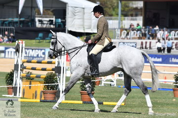 Tom Murray rode the Murray and Anderson nomination, 'Tudor Park Stars' to second place in the class for Novice Show Hunter 16-16.2hh.