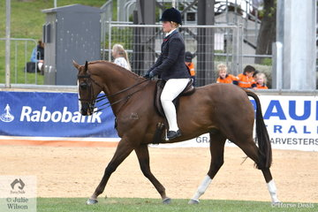 Dior Harrison rode her, 'DS Red Label' to sixth place in the Million Memorial Show Hunter Premier Award.