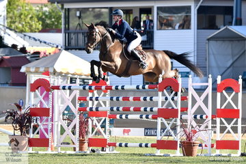Kate Hinschen rode Finch Farm Cadel for eight and four faults in the Princess Royal Station World Cup Qualifying Round.