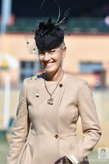 The always elegant Hack judge, Joanne Prestwidge collected a beautiful line up of horses for the Championship ride off.