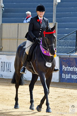 What a show for Christine Frost and her 'Ink'. On the last day of competition for the show horses, Christine claimed the Thoroughbred Racing SA Racehorse to Showhorse Reserve Championship.