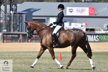 Georgie Kellock from the  Melbourne suburb, Hawthorn won the class for Lady Rider 21-30 Years and claimed the 2018 Adelaide Royal Lady Rider Championship.