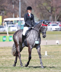 Melissa Oven placed Top 5 in The TEAM VILLIERS Rider 30 years & over event.