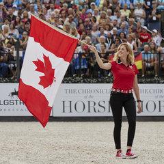 Brittany Fraser – Beaulieu - Canada, Dressage.