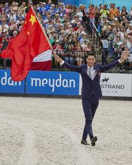 Alex Hua Tian China, Eventing.