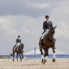 FEI World Equestrian Games... Tryon USA. Brett Parbery on DP Weltmieser AUS.Photo FEI/Liz Gregg