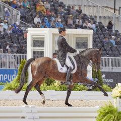 FEI World Equestrian Games... Tryon USA Dongseon Kim on Bukowski.FEI/Liz Gregg.