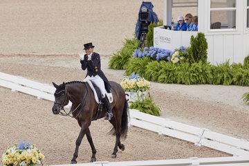 FEI World Equestrian Games... Tryon USA Dorothee Schneider on Sammy Davis Jr.Photo FEI/Liz GreggPhoto FEI/Liz Gregg