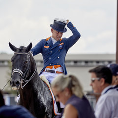 FEI World Equestrian Games... Tryon USA Hans Peter Minderhoud on Glock's Dream Boy NOP;