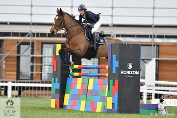 Jasmine Dennison riding Madobori De Mabribo took fourth place in the second round of the ISJ Victorian Junior Championships. Later in the day this talented rider won the MPC Excavations Victorian Senior Championship Round 2 riding Nicolossi.