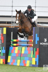 Kendall Richards riding Bonita Aurelia placed third in the second round of the ISJ Victorian Junior Championships.