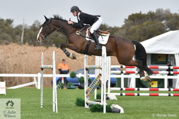 Max Height and Snow Hawk just had four faults in the ISJ Victoria Young Rider Championship Round 2.