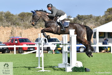 After a successful and busy Adelaide Royal, James Harvey rode Castlederg in the Hygain Stars of the Future Round 2.