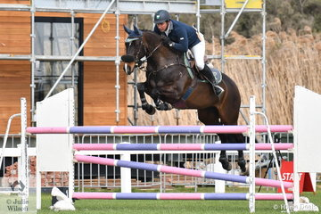 Scottie Barclay just had four faults aboard Luchia Elmare in the Hygain Stars of the Future Round 2.