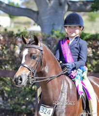 Elsie Rieger was the Champion Rider 6-9 years.