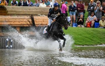 FEI World Equestrian Games... Tryon USA Astier Nicolas of France on Vinci de la Vigne.Photo FEI/FEI/Martin Dokoupil