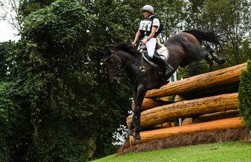 FEI World Equestrian Games... Tryon USA Karin Donckers of Belgium on Fletcha van't Veranof. PhotoFEI/Martin Dokoupil
