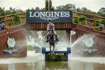 FEI World Equestrian Games... Tryon USA  Rosalind Canter GBR riding Allstar B-.Photo FEI/Christophe Tani..re