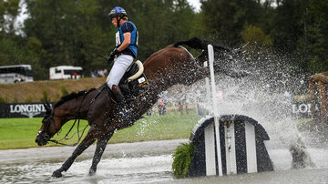 FEI World Equestrian Games... Tryon USA.Ludwig Svennerstal of Sweden on Stinger.Photo FEI/Martin Dokoupil