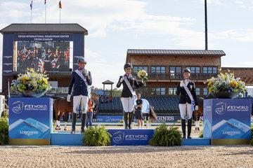 FEI World Equestrian Games...; Frank Hosmar Sophie Wells Regine Mispelkamp; Grade 2; Grade 5; Individual Championship; Paradressage
