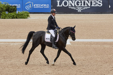 Pepo Puch on Sailor's Blue AUT.Photo FEI/Liz Gregg