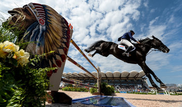 FEI World Equestrian Games... Tryon USA Christian Weier of Luxembourg on Global.Photo FEI/Martin Dokoupil