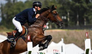 FEI World Equestrian Games... Tryon USA Peder Fredricson of Sweden on H&M Christian K.Photo FEI/Martin Dokoupil