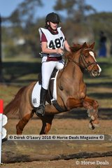 """Winner of the Grade 5 Section 3 Maddison Green representing Seville Pony Club riding """"Magical all the Way"""""""