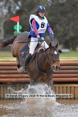 Maddy Kitto representing Yarrambat in the Grade 1 riding My Friend Jack